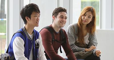 Students dispatched from overseas partner schools to Hokusei Gakuen University